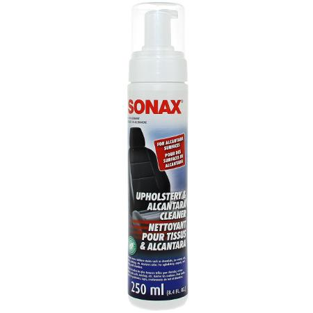 sonax upholstery alcantara cleaner 250 ml free shipping available detailed image. Black Bedroom Furniture Sets. Home Design Ideas