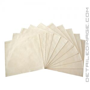 "The Rag Company Buttersoft Suede Applicator Cloth Gold - 8"" x 8"""