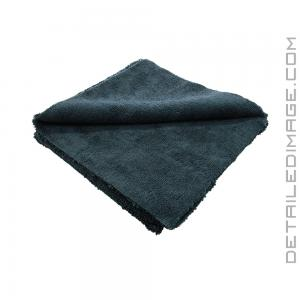 "The Rag Company Creature Edgeless 420 Towel Black - 16"" x 16"""