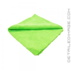 "The Rag Company Creature Edgeless 420 Towel Lime Green - 16"" x 16"""