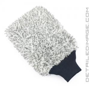 "The Rag Company Cyclone Premium Wash Mitt Grey - 8"" x 10"""