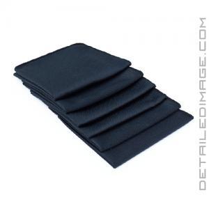 "The Rag Company Diamond Glass Towel Black - 16"" x 16"""