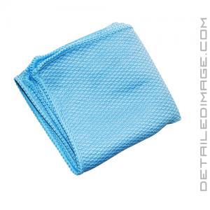 "The Rag Company Diamond Glass Towel Blue - 16"" x 16"""
