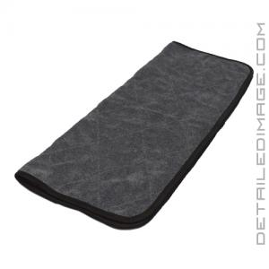 "The Rag Company Double Twistress Microfiber Towel Black - 20"" x 24"""