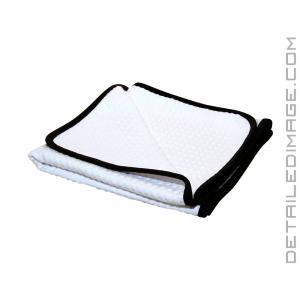 "The Rag Company Dry Me A River Waffle Weave Towel White - 20"" x 40"""