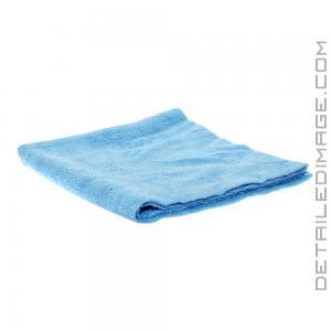 "The Rag Company Edgeless 300 Microfiber Towel Light Blue - 16"" x 16"""