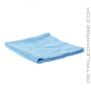 "The Rag Company Edgeless 300 Microfiber Towel Light Blue - 16"" x 16"""