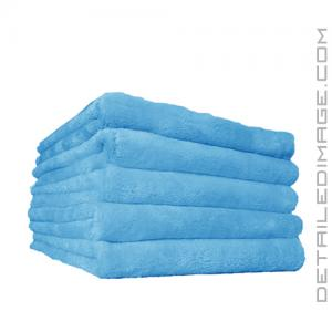 """The Rag Company Minx Edgeless Coral Fleece Towel Turquoise - 16"""" x 16"""""""