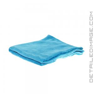 "The Rag Company Minx Edgeless Coral Fleece Towel Turquoise - 16"" x 16"""