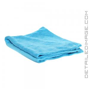 "The Rag Company Minx Edgeless Coral Fleece Towel Turquoise - 16"" x 24"""