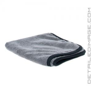"The Rag Company Spectrum 420 Microfiber Towel Grey - 16"" x 16"""