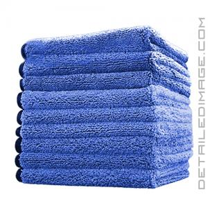"The Rag Company Spectrum 420 Microfiber Towel Royal Blue - 16"" x 16"""
