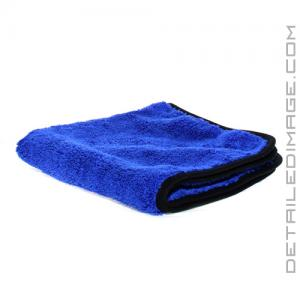"The Rag Company Spectrum 420 Microfiber Towel Royal Blue - 16"" x 16"""