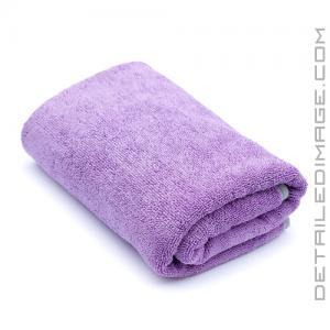 "The Rag Company Twist N' Shout Drying Microfiber Towel Lavender - 25"" x 36"""