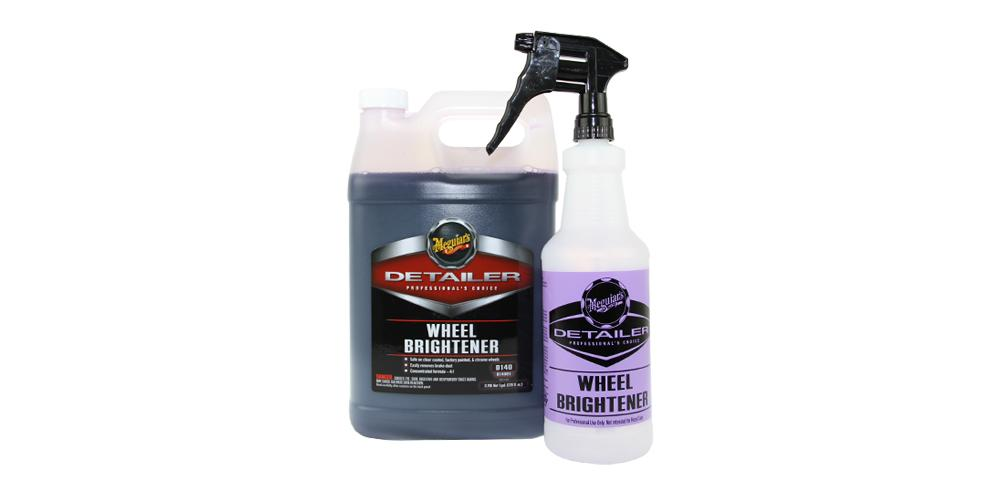 Meguiar's Wheel Brightener D140 Kit