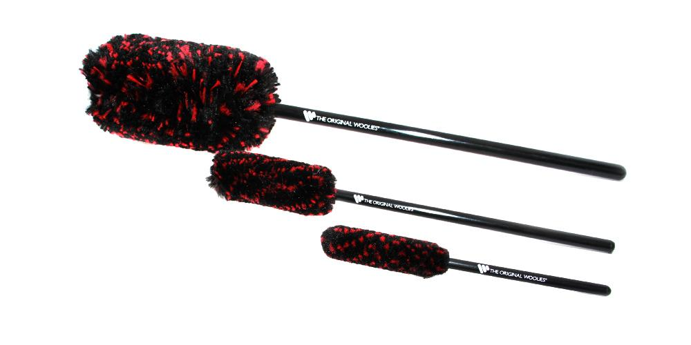 Wheel Woolies Brush 3 Piece Kit