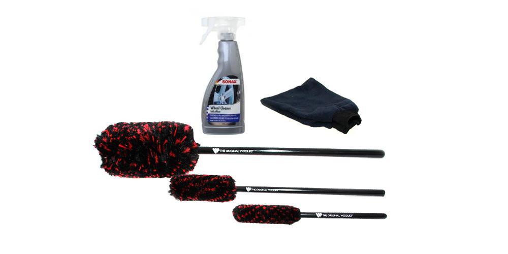 Wheel Woolies and Wheel Cleaner Kit