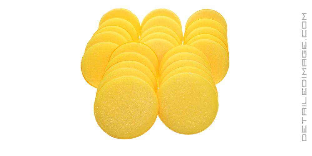 DI Accessories Yellow Foam Applicator Pad BULK